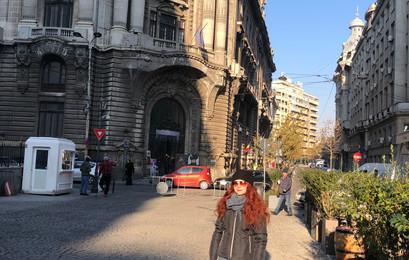 Bucharest Historic Street