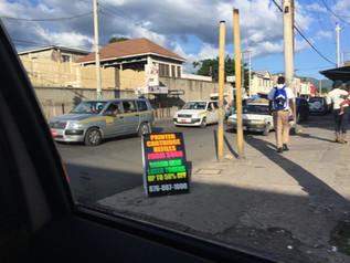 Everyday Street Scene Kingston Jamaica