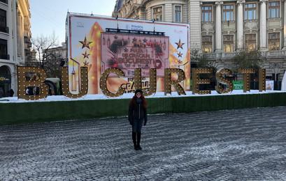 Amanda in Bucharest