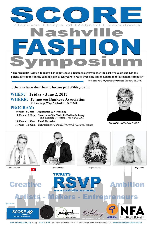 SCORE Nashville Fashion Symposium
