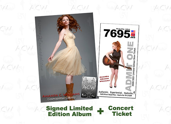 Cosmopolitan Country Limited Edition CD