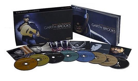 Garth Brooks Blame It All On My Roots Box Set