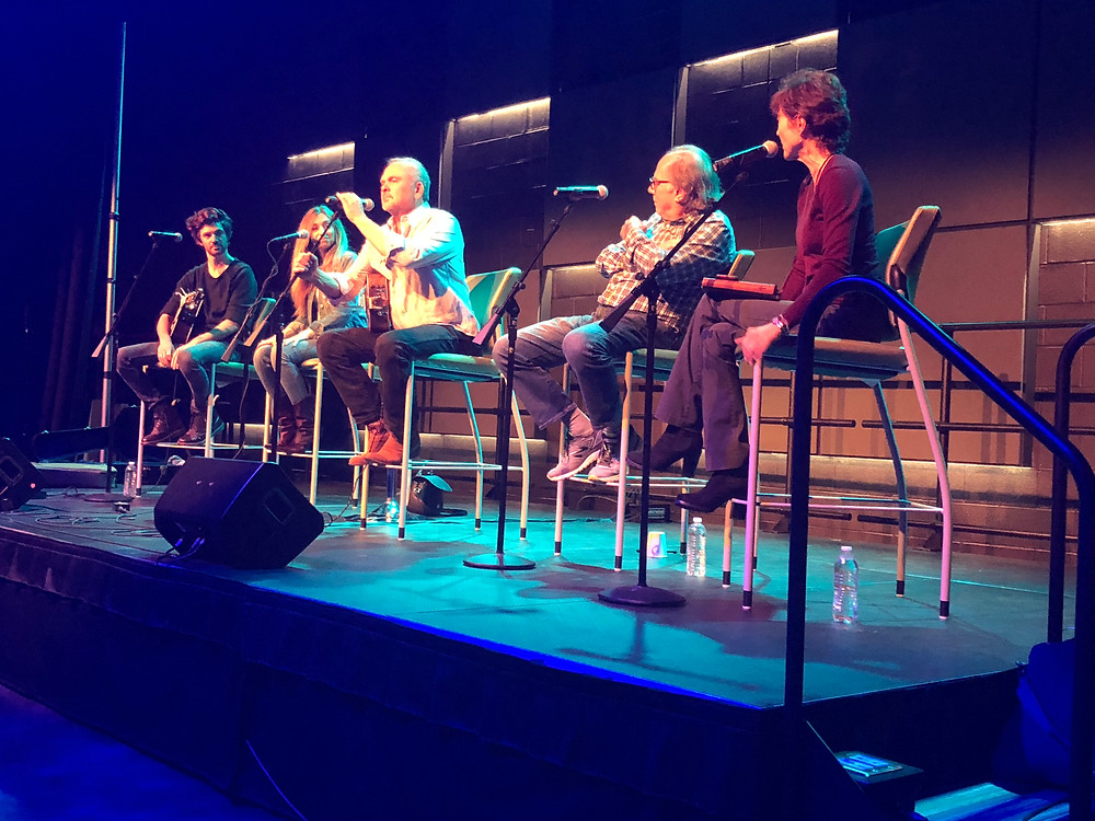 Kent Blazy, The Travelers, Paul Worley, Kim McLean at Trevecca University Event Songwriters