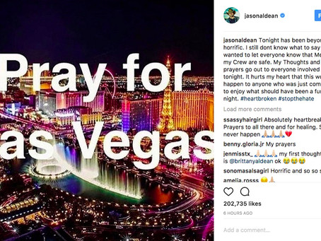Country Music World Rocked By Las Vegas Shooting