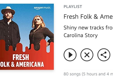 """I Am Saved"" Makes Amazon Music Fresh Folk & Americana Playlist"