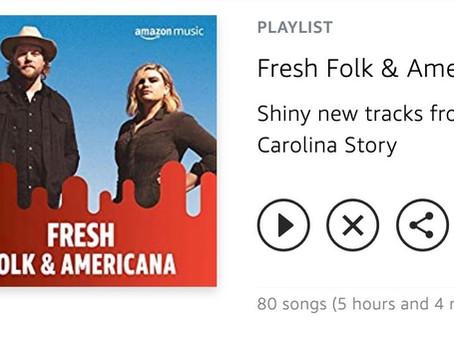 """I Am Saved"" Makes Amazon Music Fresh Folk & Americana Playlist"