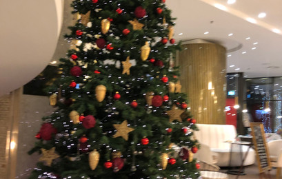 Christmas Tree Hotel Intercontinental