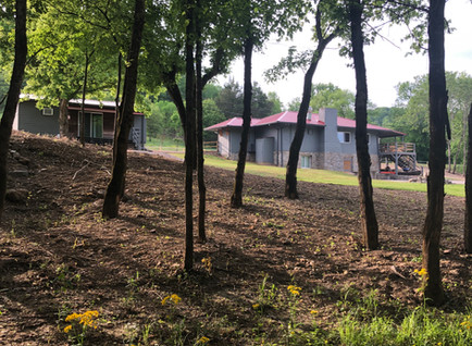 Wooded acreage
