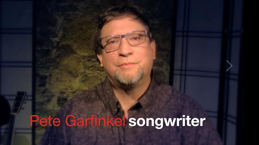 Pete Garfinkel Songs of Substance songwriter