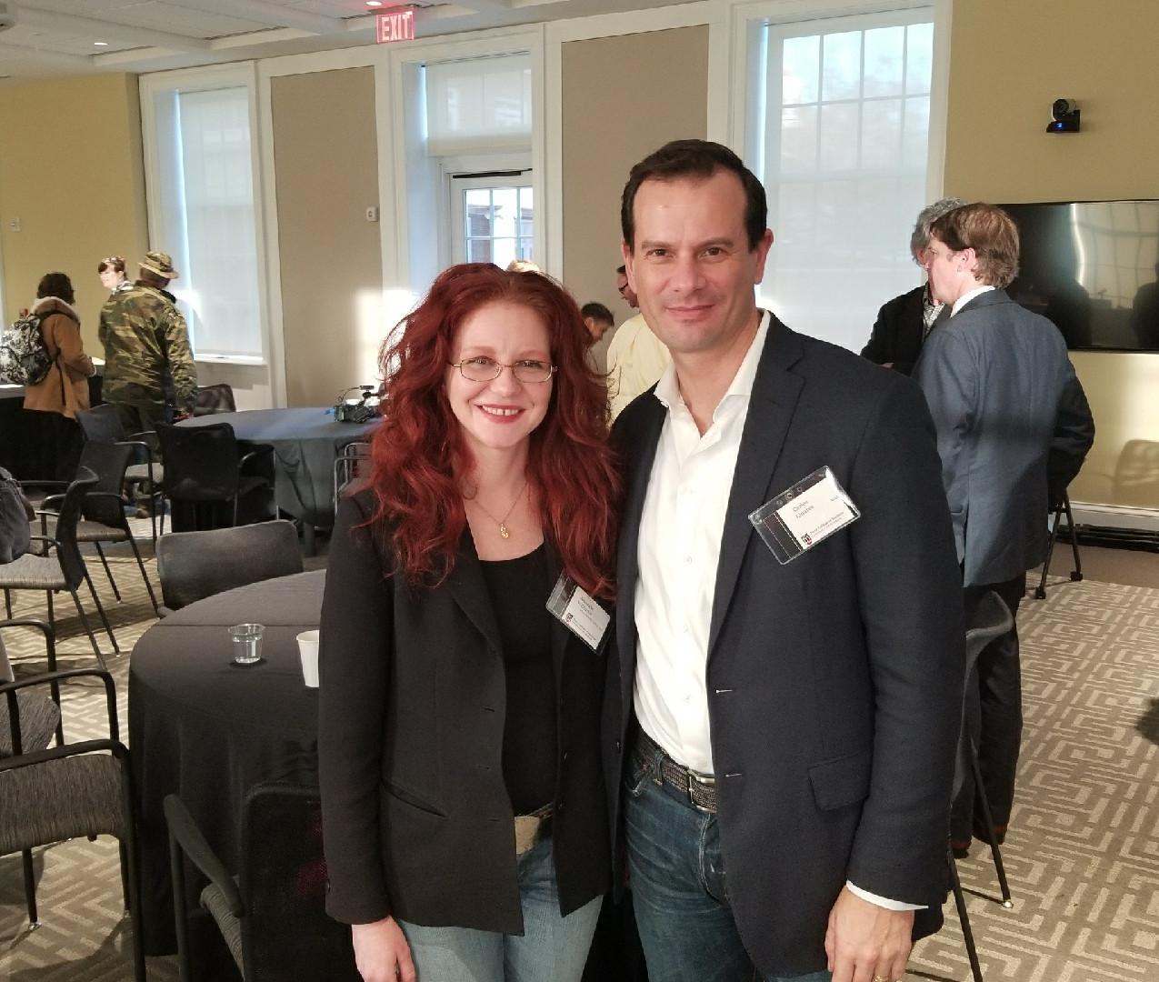 Amanda and Carlos Linares of RIAA