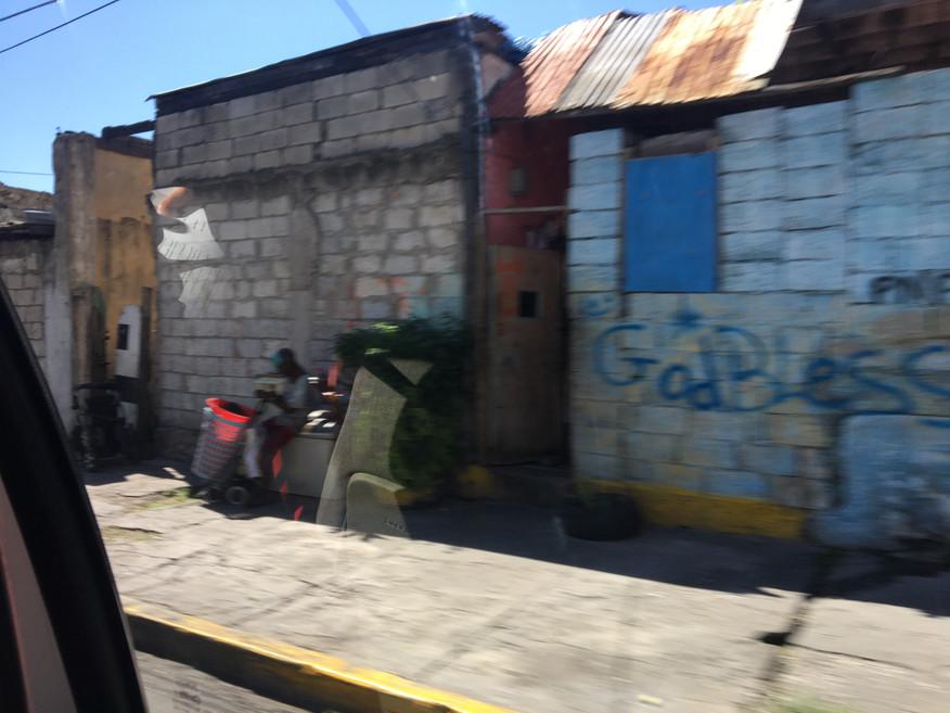 God bless Jamaica Downtown Kingston