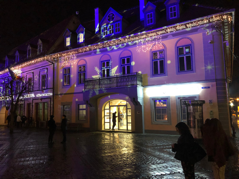 Sibiu Christmas Lights