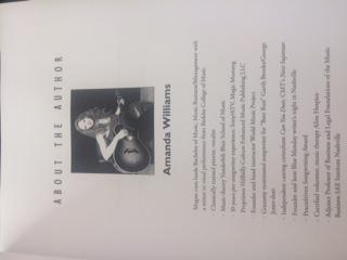 Getting Started workbook Amanda Williams author
