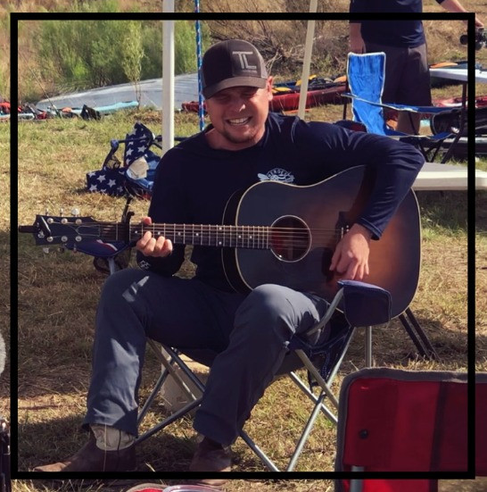 Taylor Lewis Music acoustic set left handed guitar player