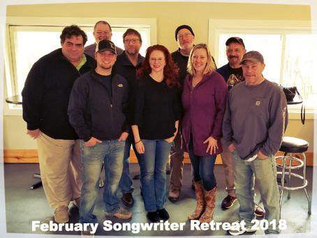 February Songwriter Retreat 2018