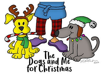 The Dogs and Me For Christmas Durand Rob