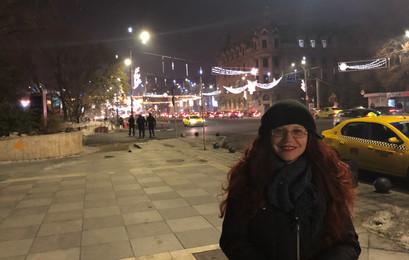 Bucharest Romania Nighttime