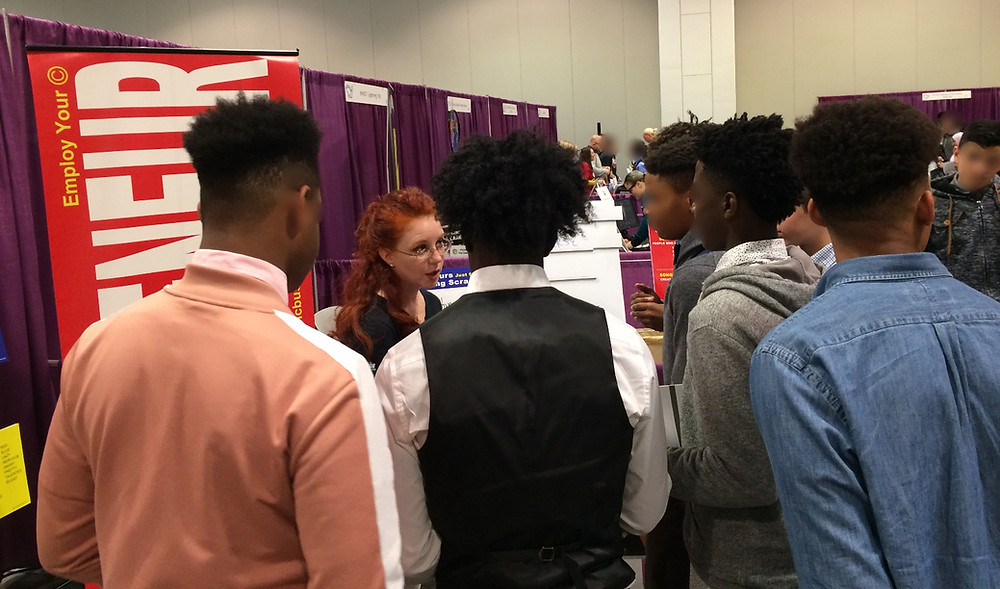 Songpreneurs at Metro Nashville Public Schools Career Resource Fair