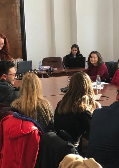 University of Bucharest Law Students