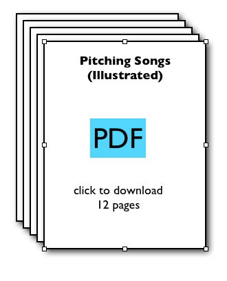 Pitching Songs (Illustrated)