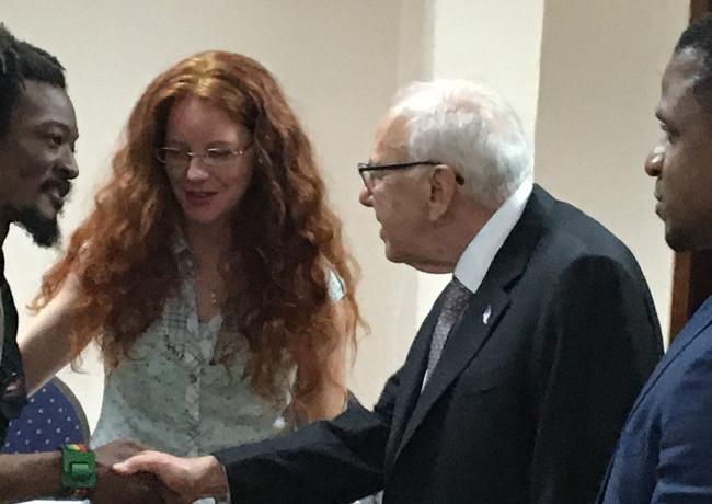 Ambassador Tapia Jamaica and Elon
