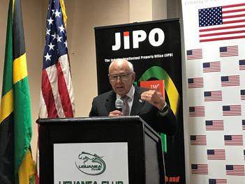 Ambassador Tapia Arts Envoy IPR Jamaica