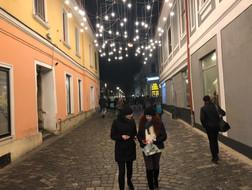 Cluj Napoca evening stroll