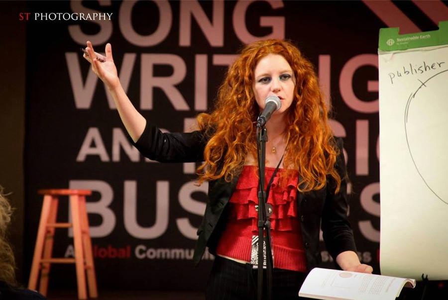 Multiplatinum awarded songwriter Amanda Colleen Williams redheaded songwriter Nashville Tennessee