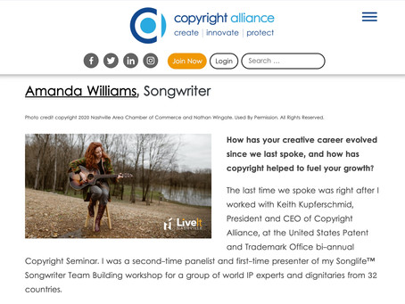 Creator Spotlight Feature Copyright Alliance Guest Blog