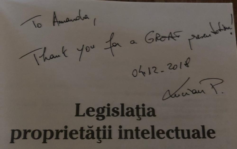 Inscription Law Book