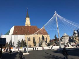 Cluj Napoca Town Square