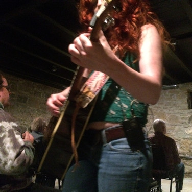 Amanda performing