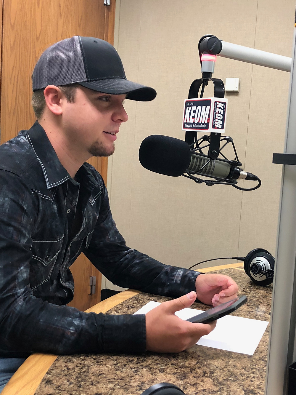 Taylor Lewis on KEOM Texas FM
