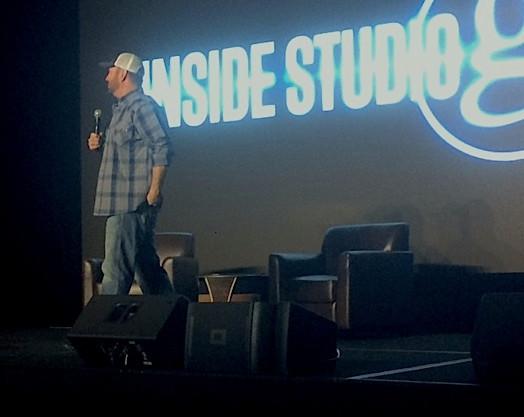 Garth at CRS Inside Studio G