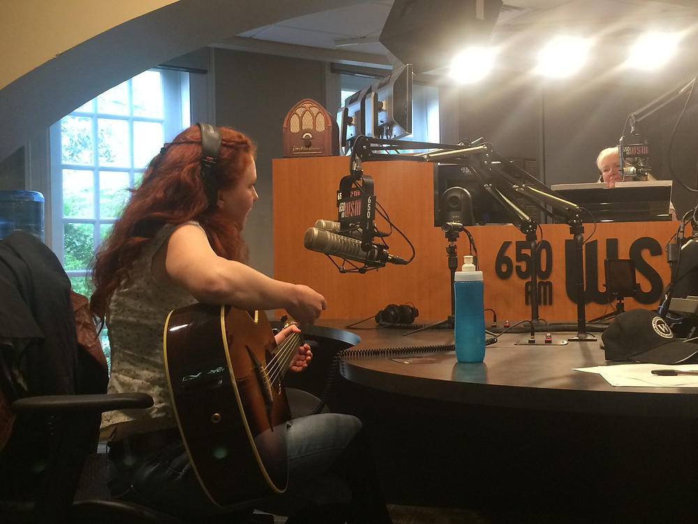 Devon O'Day with guest Amanda Colleen Williams on Nashville Today