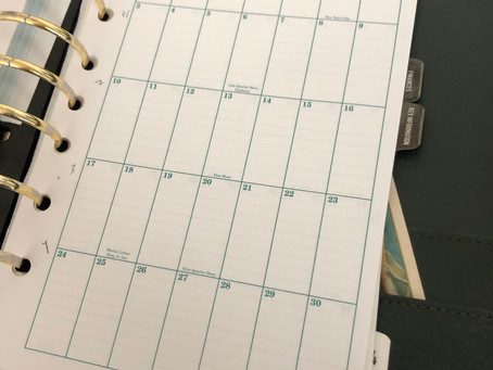 Planning Your Week for Songwriting