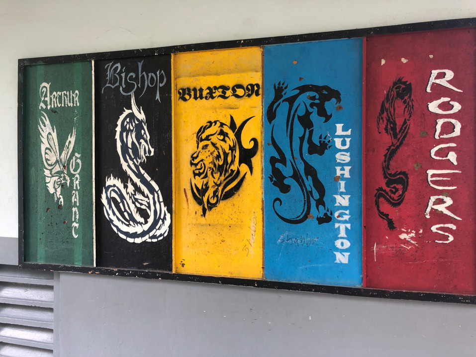 Mural at MICO University College