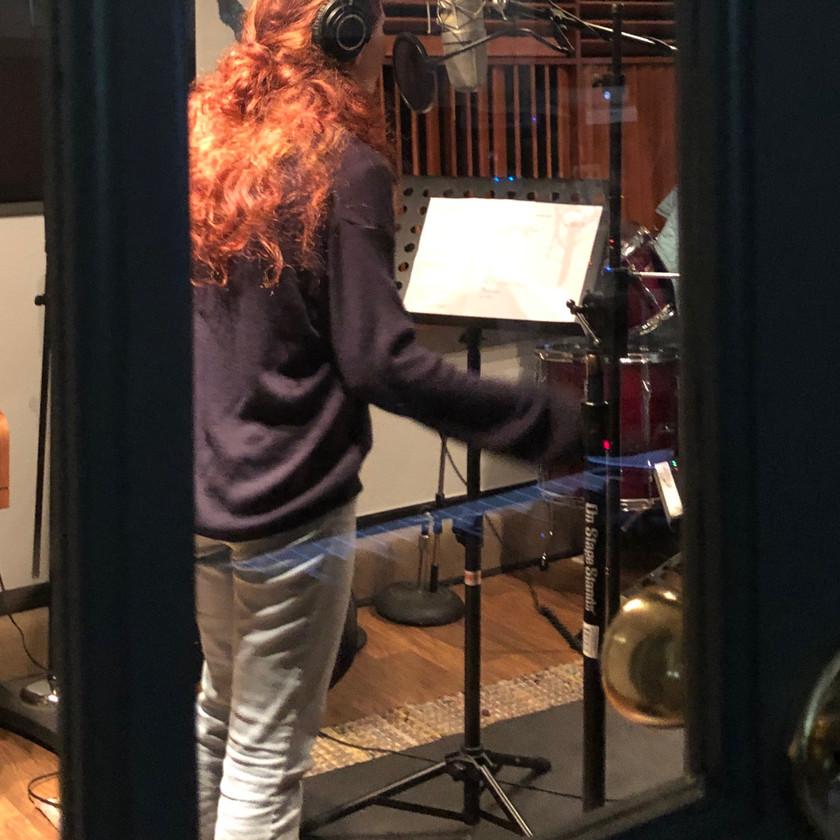 Amanda tracking vocals