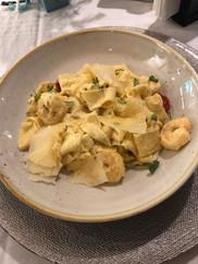 Fettuccini Shrimp