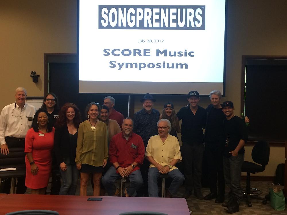 Songpreneurs SCORE Music Symposium