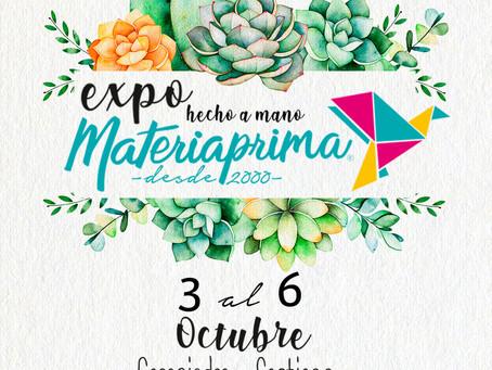 Expo Materia Prima: talleres de manualidades en vivo y múltiples expositores