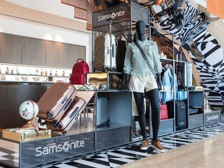Conoce la instalación de Samsonite en el aeropuerto de Santiago