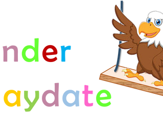 Kindergarten Playdate on August 15th!
