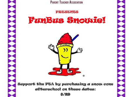 Fun Bus Snowie Days! Support the PTA!