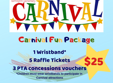 Get your pre-sale Carnival tickets today!