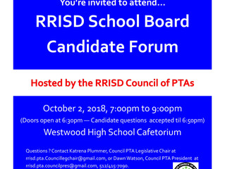 RRISD School Board Candidate Forum