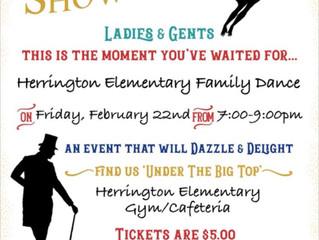 Herrington Family Dance 2/22 7-9pm