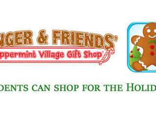 Peppermint Village Holiday Store OPEN NEXT WEEK!!