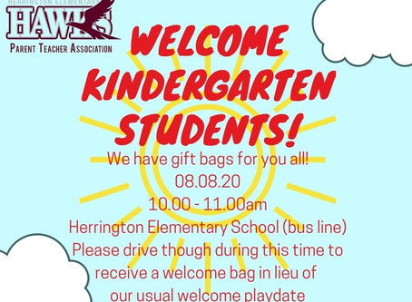 Welcome Kinder students!