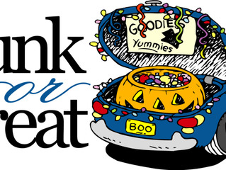 Trunk or Treat! Free Fun on 10/29/16 at 4:00 PM